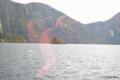 [北海道][大雪山]然別湖岸の紅葉 V 弁天島