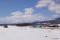 [北海道][冬景色]真狩村から望むニセコ山系