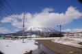 [北海道][冬景色][羊蹄山]真狩村から望む羊蹄山