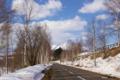 [北海道][冬景色][ニセコ]道道230号から望むニセコアンヌプリ