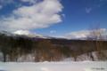 [北海道][冬景色]イワオヌプリ・羊蹄山 双望
