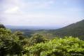 [東北][八甲田山]十和田ゴールドライン 岩木山展望台から青森市街地を望む
