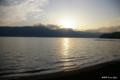 [東北][十和田湖]十和田湖畔の夕景