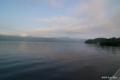 [東北][十和田湖]御前ヶ浜湖畔歩道から望む十和田湖(西湖)