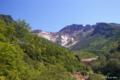 [北海道][美瑛][十勝岳連峰]十勝岳温泉から望む上ホロカメットク山