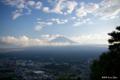 [山梨県][富士五湖]カチカチ山展望台から望む富士 I
