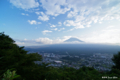 [山梨県][富士五湖]カチカチ山展望台から望む富士 II