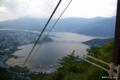 [山梨県][富士五湖]カチカチ山展望台から望む河口湖