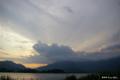 [山梨県][富士五湖]毛無山に射す後光