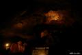 [山梨県][青木ヶ原樹海][西湖コウモリ穴]西湖コウモリ穴 巨人の足跡状広場