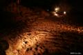 [山梨県][青木ヶ原樹海][西湖コウモリ穴]西湖コウモリ穴 縄状溶岩