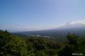 [山梨県][青木ヶ原樹海]紅葉台から望む鳴沢村全景
