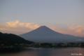 [山梨県][富士五湖][富士山]朝焼けの富士