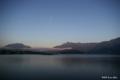 [山梨県][富士五湖]河口湖と月 II