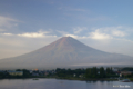 [山梨県][富士五湖][富士山]朝焼けに映える富士