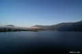 [山梨県][富士五湖]河口湖と月 III