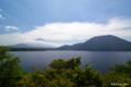 [山梨県][富士五湖][富士山]本栖湖と富士山 II (中之倉トンネル勾配前)