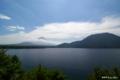 [山梨県][富士五湖][富士山]本栖湖と富士山 III (中之倉トンネル前勾配途中)