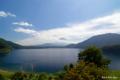 [山梨県][富士五湖][富士山]本栖湖と富士山 V (紙幣意匠地点)