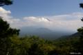 [山梨県][富士山][青木ヶ原樹海]パノラマ台中腹から望む富士 I