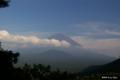 [山梨県][富士山][青木ヶ原樹海]パノラマ台中腹から望む富士 II