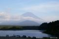 [山梨県][富士五湖][富士山][青木ヶ原樹海]精進湖 VI 湖岸から富士を望む