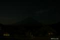 [山梨県][富士五湖][富士山][青木ヶ原樹海]宵闇に潜む富士