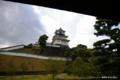 [静岡県][掛川城]掛川城天守閣 IV 御殿から天守閣を望む