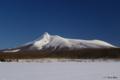 [北海道][駒ヶ岳][冬景色]厳冬の北海道駒ヶ岳