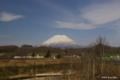[北海道][羊蹄山]早春の蝦夷富士 @ニセコ町黒川地区 羊蹄山ビューポイント