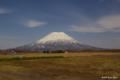[北海道][羊蹄山]早春の蝦夷富士 @ニセコ町宮田 ビューポイントパーキング