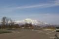 [北海道][ニセコ]早春のニセコアンヌプリ @ニセコ町宮田 ビューポイントパーキング