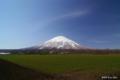[北海道][羊蹄山]早春の蝦夷富士 @道道97号駐車場