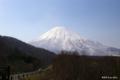 [北海道][羊蹄山]早春の蝦夷富士 @喜茂別町 相川ビューポイントパーキング
