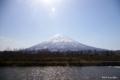 [北海道][羊蹄山]早春の蝦夷富士 @京極町ビューポイント