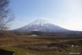 [北海道][羊蹄山]早春の蝦夷富士 @倶知安町豊岡