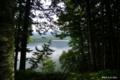 [北海道][大雪山]タウシュベツ展望台から望む糠平湖