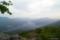 白雲山山頂から望む然別湖全景