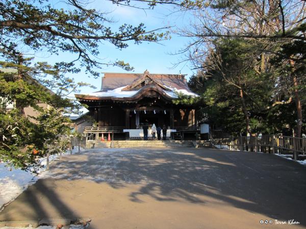 函館亀田八幡宮 本殿