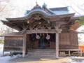 [北海道][函館]函館亀田八幡宮 旧社殿