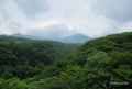 [栃木県]雲間に見えた那須岳