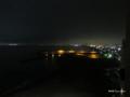 [北海道][函館][夜景]客室から望む函館市街地夜景と漁火