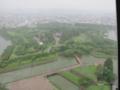 [北海道][函館][五稜郭]小雨の五稜郭 @五稜郭タワー