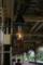 JR小樽駅ホーム ランプ型照明