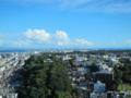[横浜][マリンタワー]横浜マリンタワーから三浦半島を望む