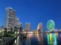 [横浜][夜景][汽車道][みなとみらい]汽車道から望むみなとみらい地区の夜景 I