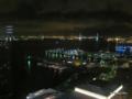 [横浜][夜景]大観覧車「コスモクロック21」から望む横浜港夜景