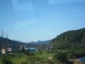[岩手県][遠野]遠野 下早瀬橋から鳥海山を望む