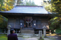 [岩手県][遠野]早池峯神社 拝殿