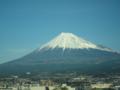 [富士山]東海道新幹線の車窓から